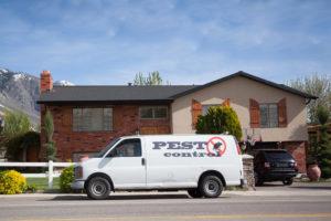 Pest Control Company Van