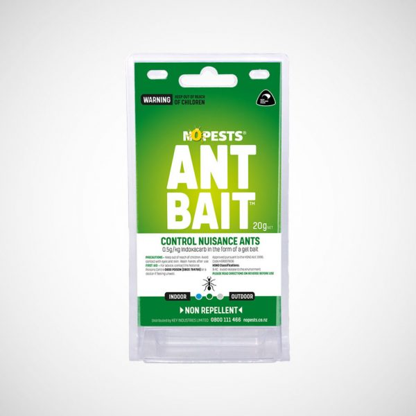 ant bait encourages ants to consume as much bait as possible and return it to the nest.